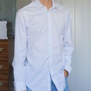 Calvin Klein Men's Slim Fit Non Iron Dress Shirt